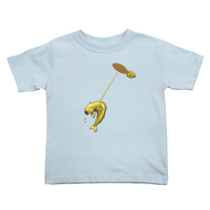 Slappy Fish! Kids Toddler T-Shirt by Breath of Life Art Studio Shop