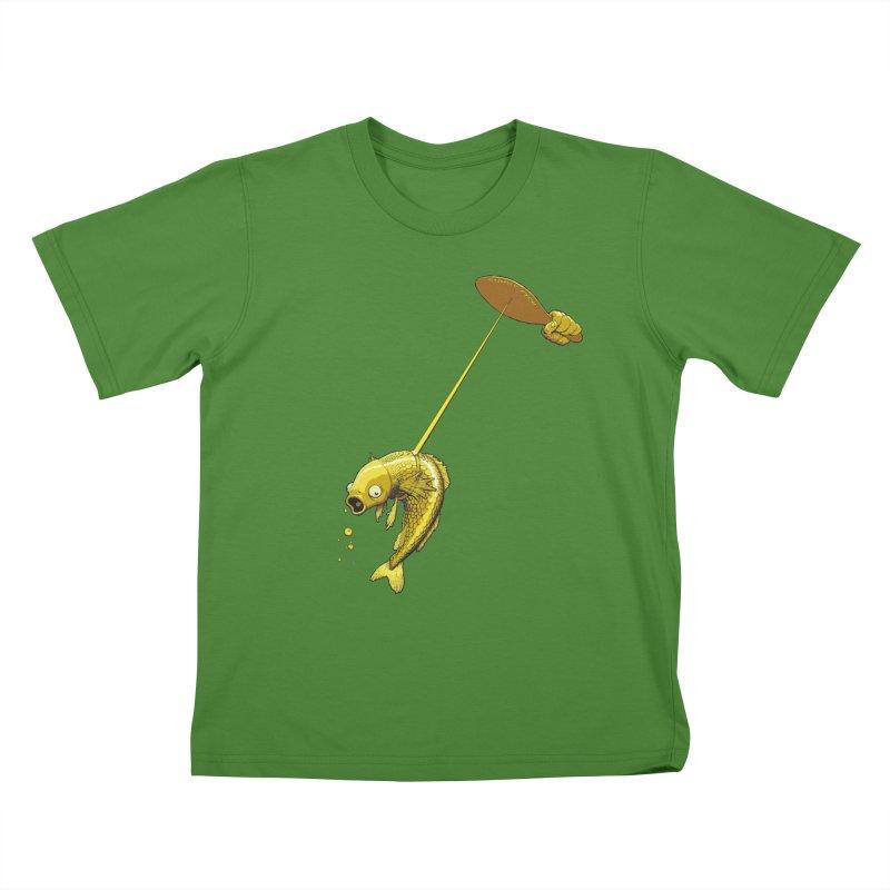 Slappy Fish! Kids T-shirt by Breath of Life Art Studio Shop