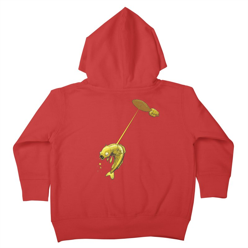Slappy Fish! Kids Toddler Zip-Up Hoody by Breath of Life Development Merch Shop