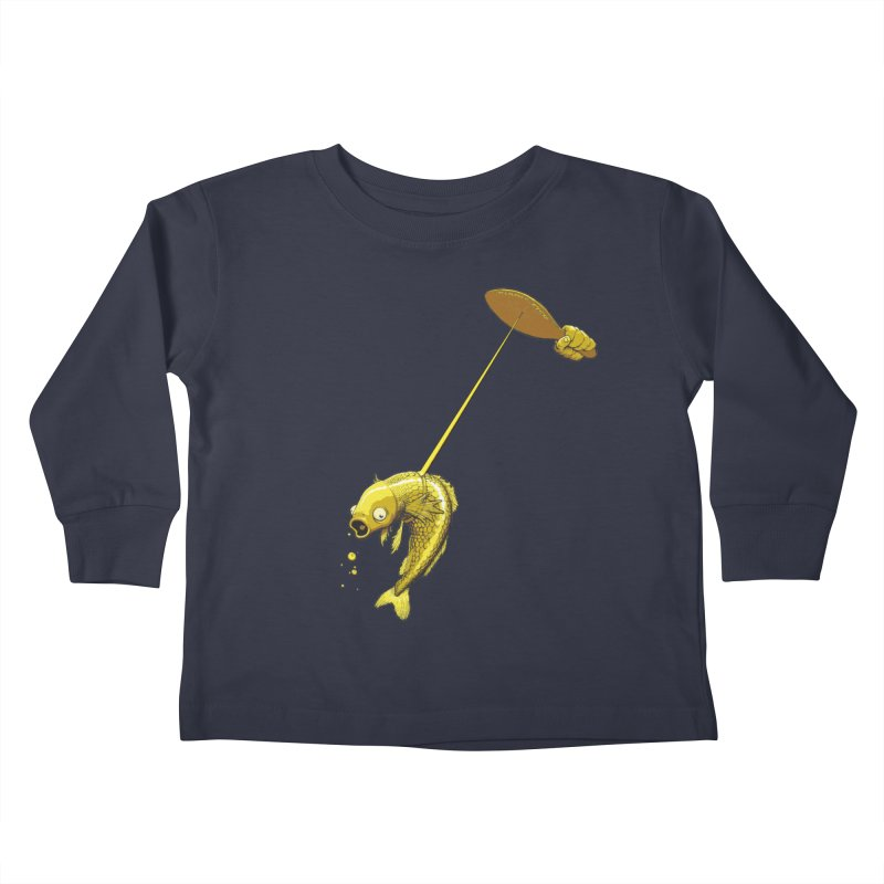 Slappy Fish! Kids Toddler Longsleeve T-Shirt by joshforeman's Artist Shop