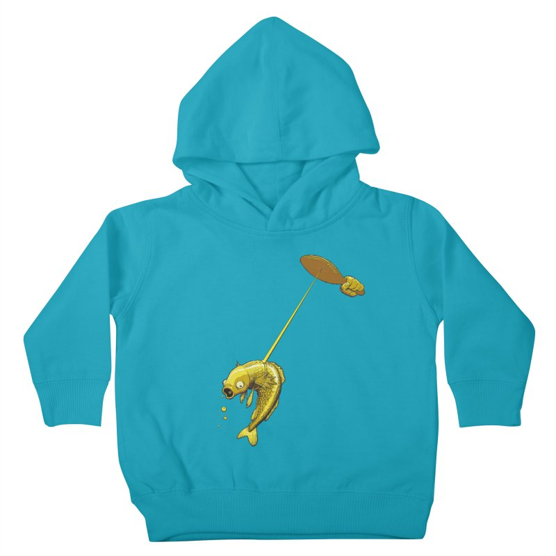 Slappy Fish! Kids Toddler Pullover Hoody by Breath of Life Art Studio Shop