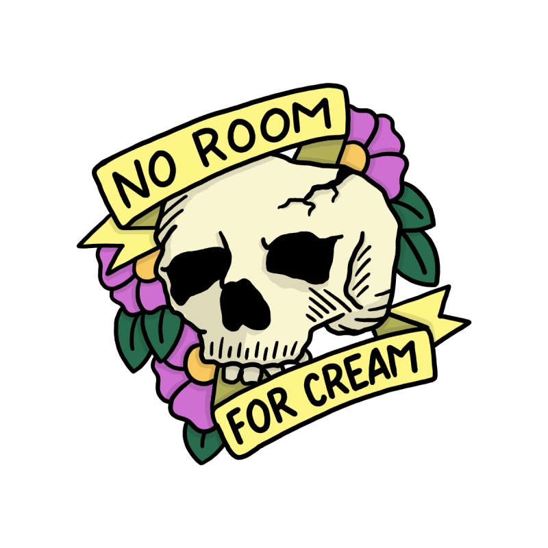 No Room For Cream by joshlafayette's Artist Shop