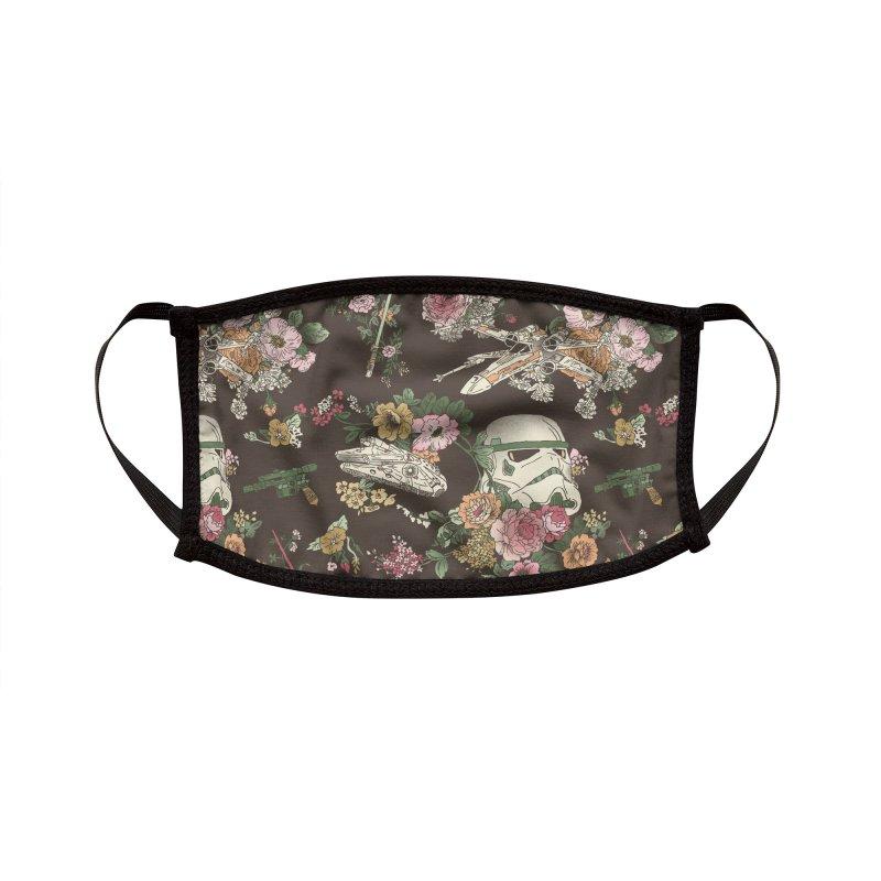 Botanic Wars Accessories Face Mask by Josh Ln Artist Shop
