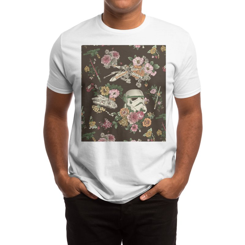 Botanic Wars Men's T-Shirt by Josh Ln Artist Shop