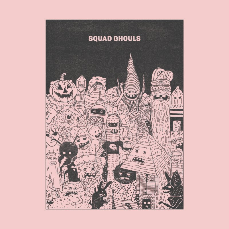 Squad Ghouls Home Framed Fine Art Print by Josh Ln Artist Shop