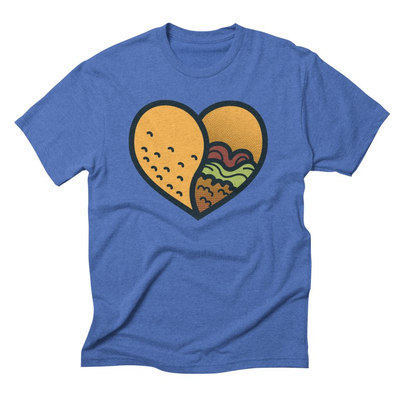 Taco, My Love Men's Triblend T-Shirt by Barbell Buffet