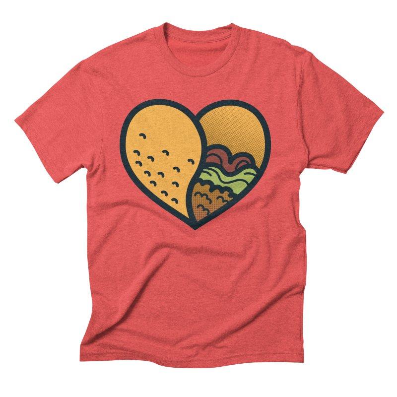 Taco, My Love Men's Triblend T-shirt by Lush Taco
