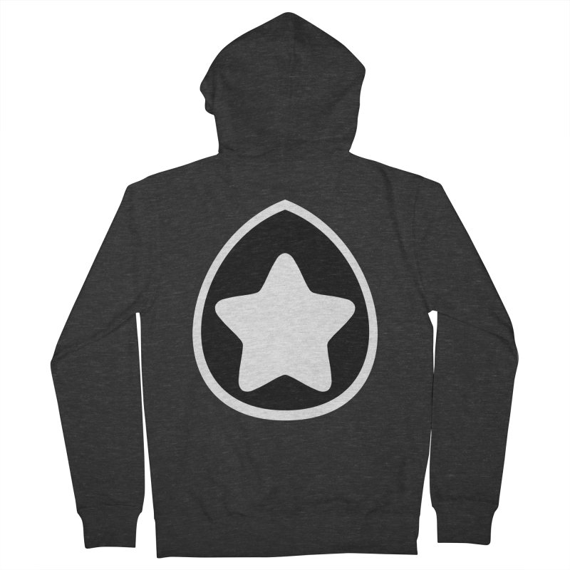 INKT Men's French Terry Zip-Up Hoody by joshthecartoonguy's Artist Shop