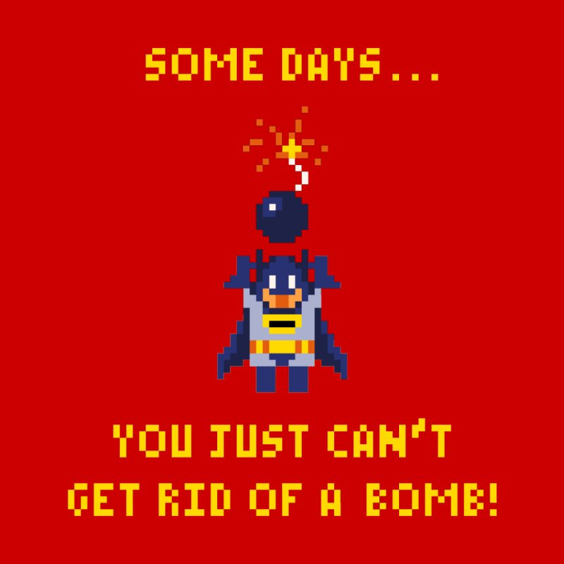 Adam Bomb None  by joshthecartoonguy's Artist Shop