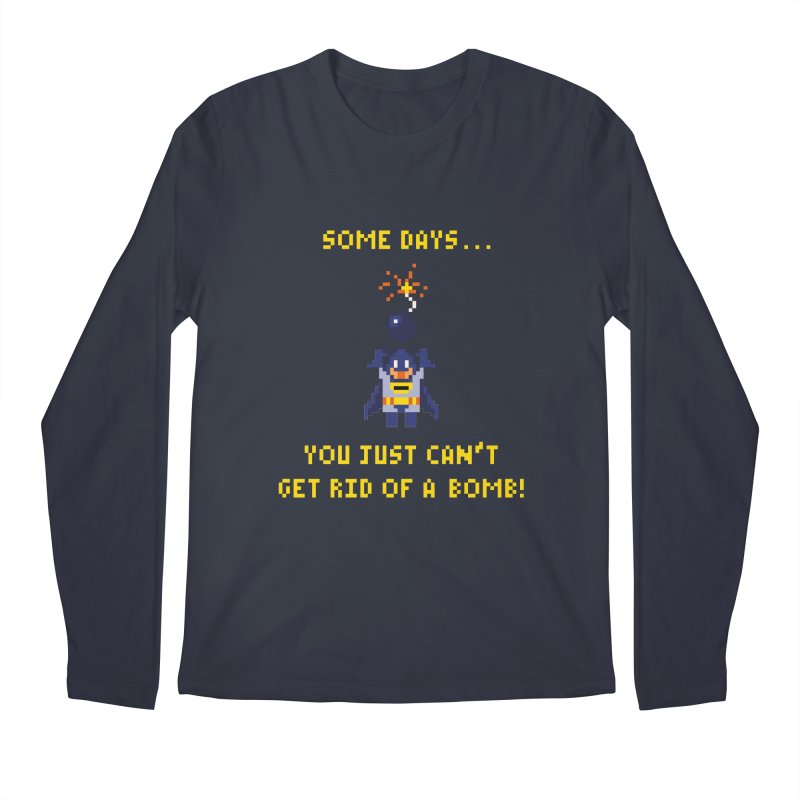Adam Bomb Men's Longsleeve T-Shirt by joshthecartoonguy's Artist Shop
