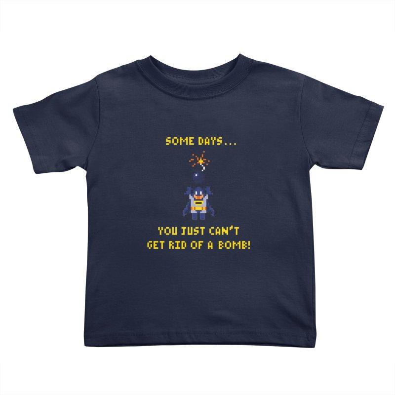 Adam Bomb Kids Toddler T-Shirt by joshthecartoonguy's Artist Shop