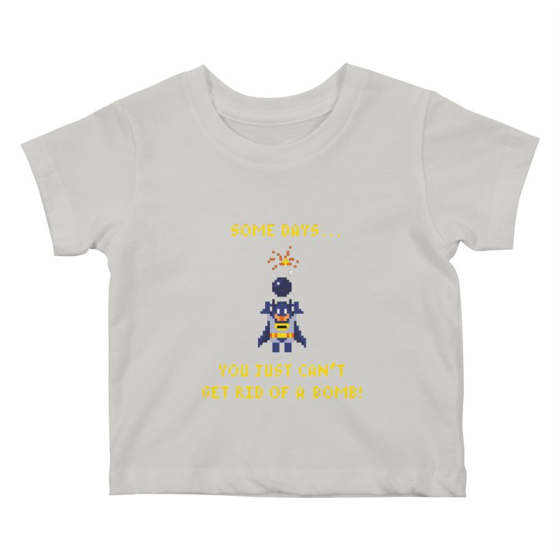 Adam Bomb Kids Baby T-Shirt by joshthecartoonguy's Artist Shop