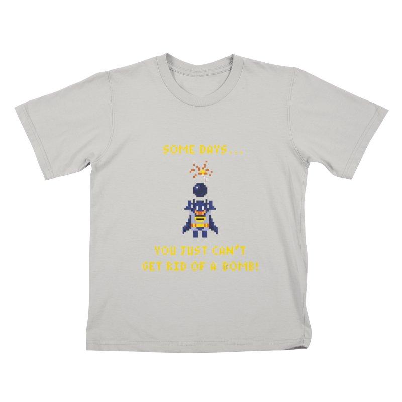 Adam Bomb Kids T-Shirt by joshthecartoonguy's Artist Shop
