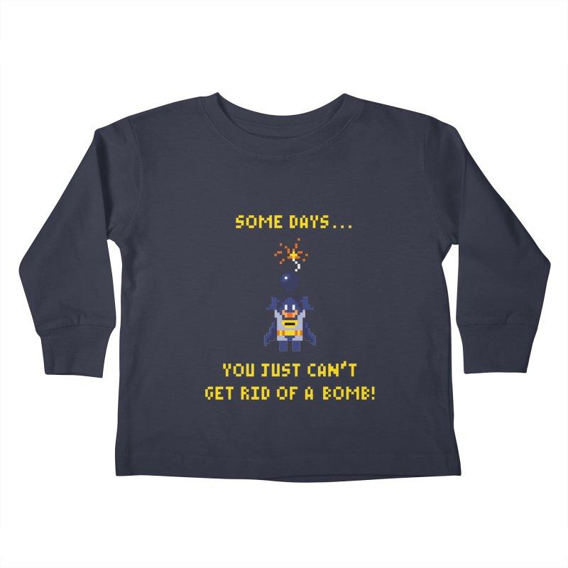 Adam Bomb Kids Toddler Longsleeve T-Shirt by joshthecartoonguy's Artist Shop