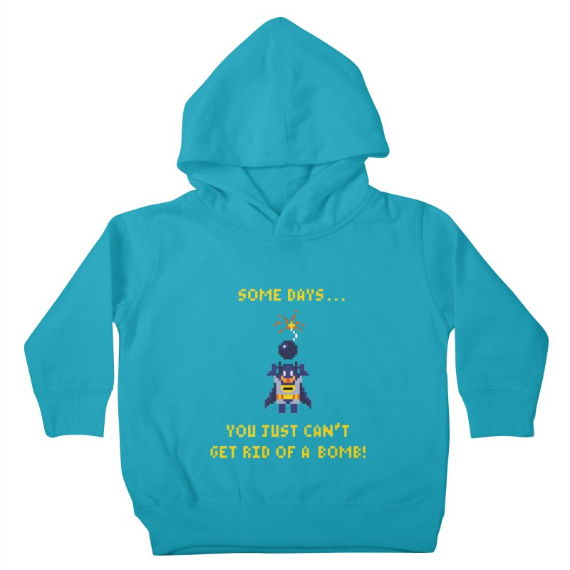 Adam Bomb Kids Toddler Pullover Hoody by joshthecartoonguy's Artist Shop