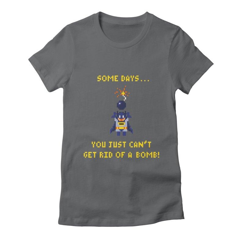 Adam Bomb Women's Fitted T-Shirt by joshthecartoonguy's Artist Shop