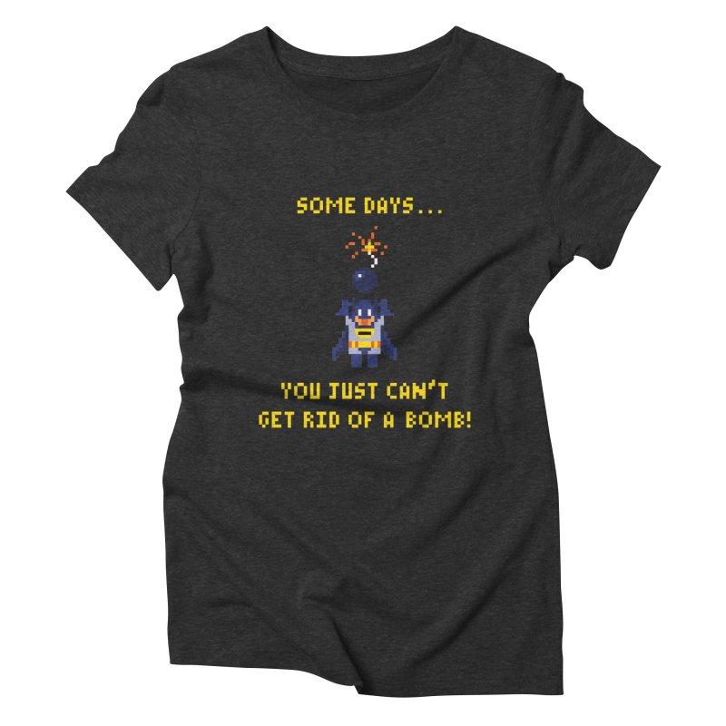 Adam Bomb Women's Triblend T-Shirt by joshthecartoonguy's Artist Shop