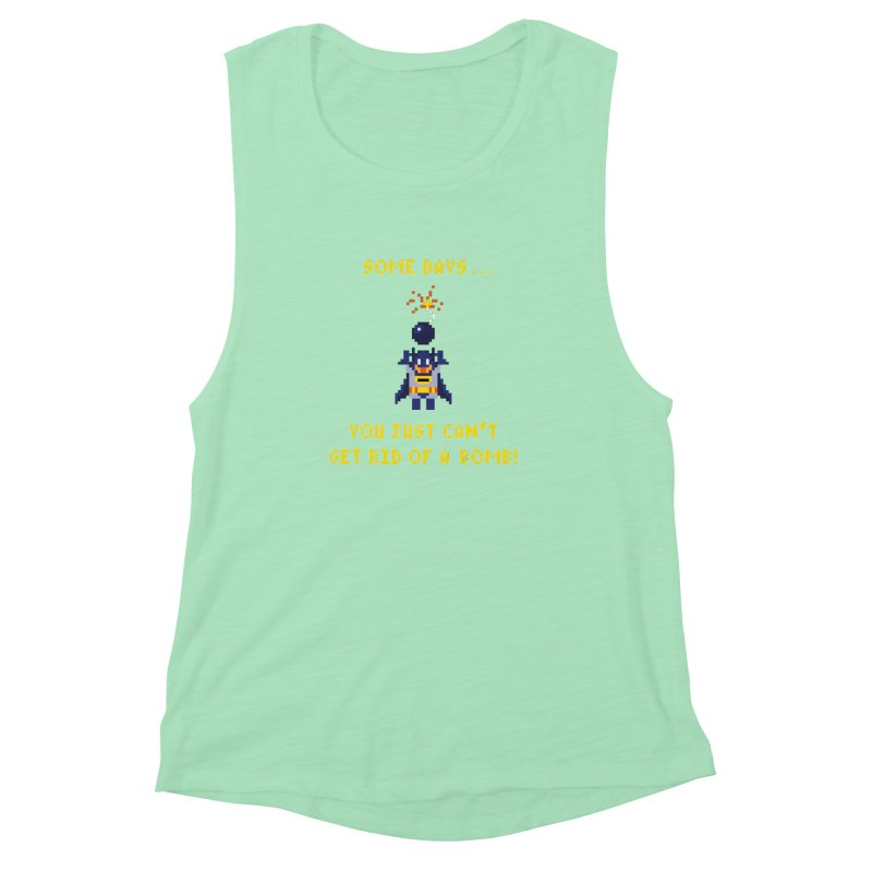 Adam Bomb Women's Muscle Tank by joshthecartoonguy's Artist Shop