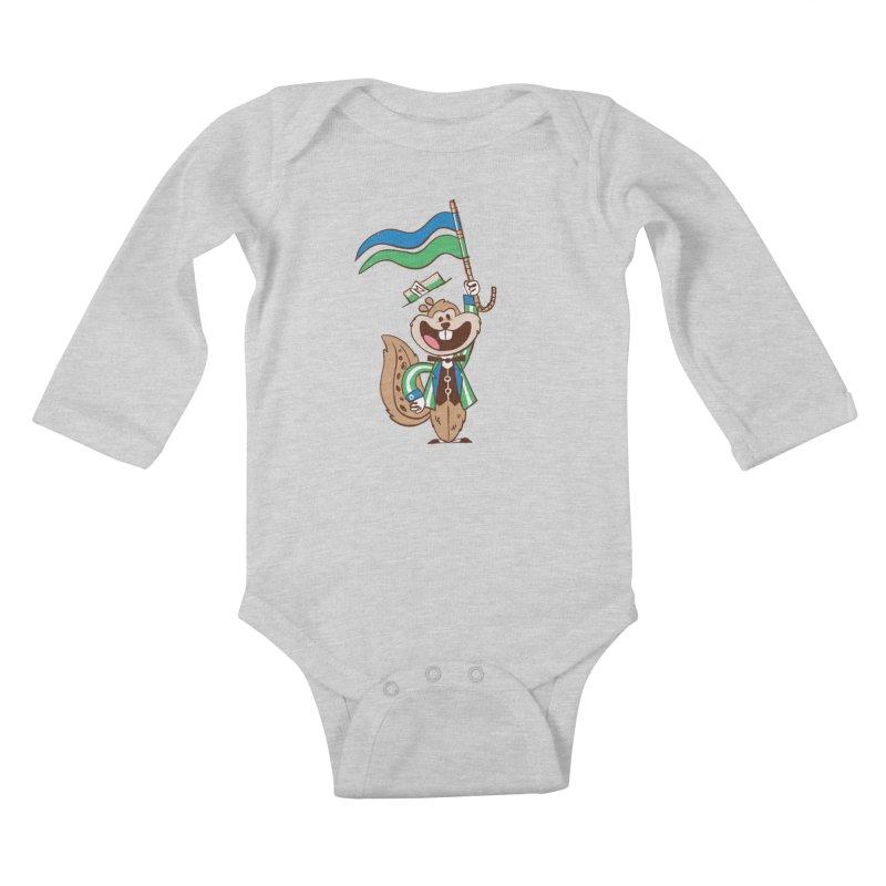 Fairchild - Minnesota State Fair Kids Baby Longsleeve Bodysuit by Joshua Gille's Artist Shop