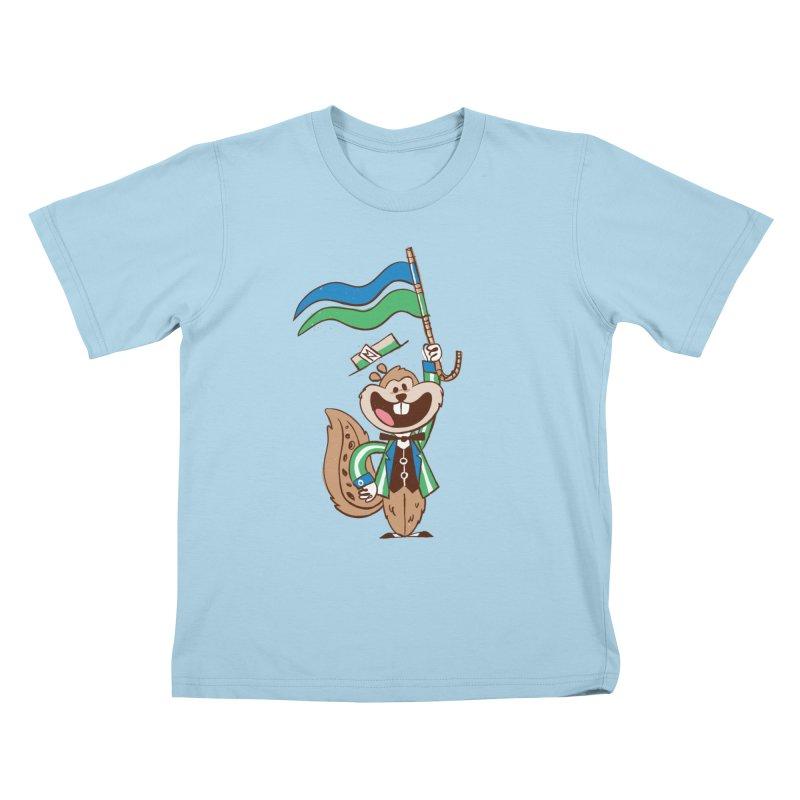 Fairchild - Minnesota State Fair Kids T-Shirt by Joshua Gille's Artist Shop