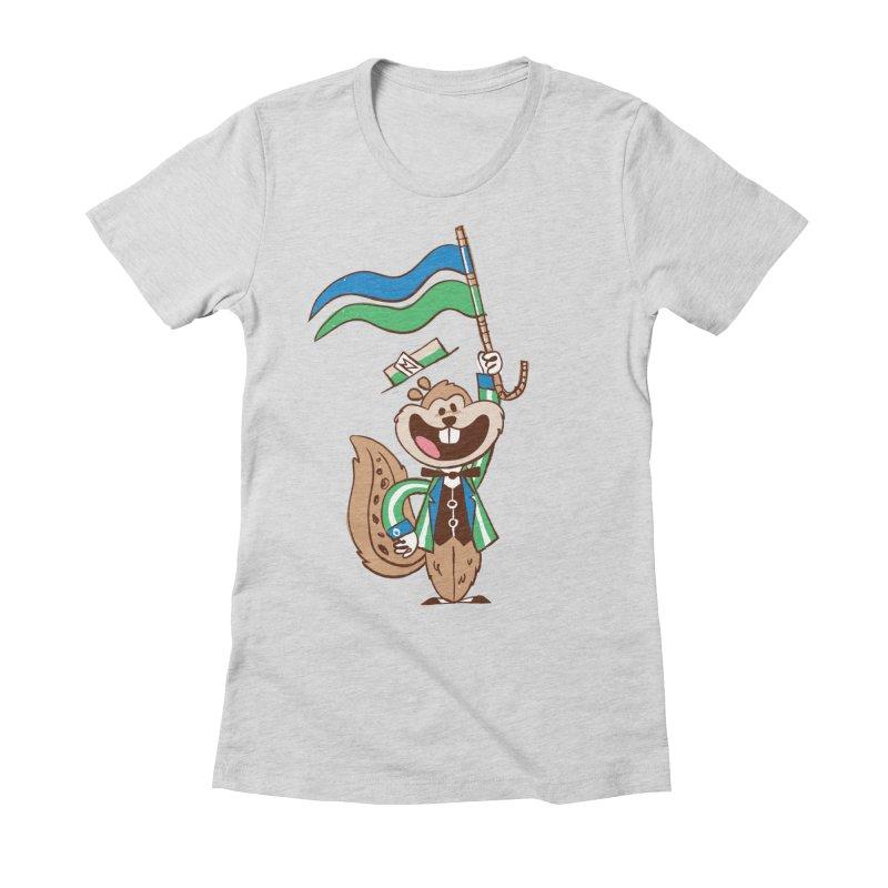 Fairchild - Minnesota State Fair Women's Fitted T-Shirt by Joshua Gille's Artist Shop