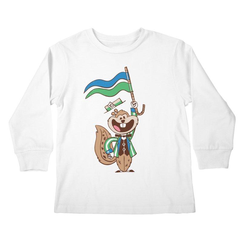 Fairchild - Minnesota State Fair Kids Longsleeve T-Shirt by Joshua Gille's Artist Shop