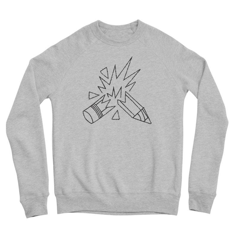 Creativity Men's Sponge Fleece Sweatshirt by Joshua Gille's Artist Shop
