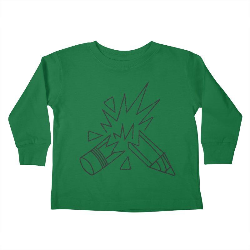 Creativity Kids Toddler Longsleeve T-Shirt by Joshua Gille's Artist Shop