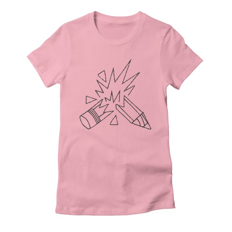 Creativity Women's Fitted T-Shirt by Joshua Gille's Artist Shop