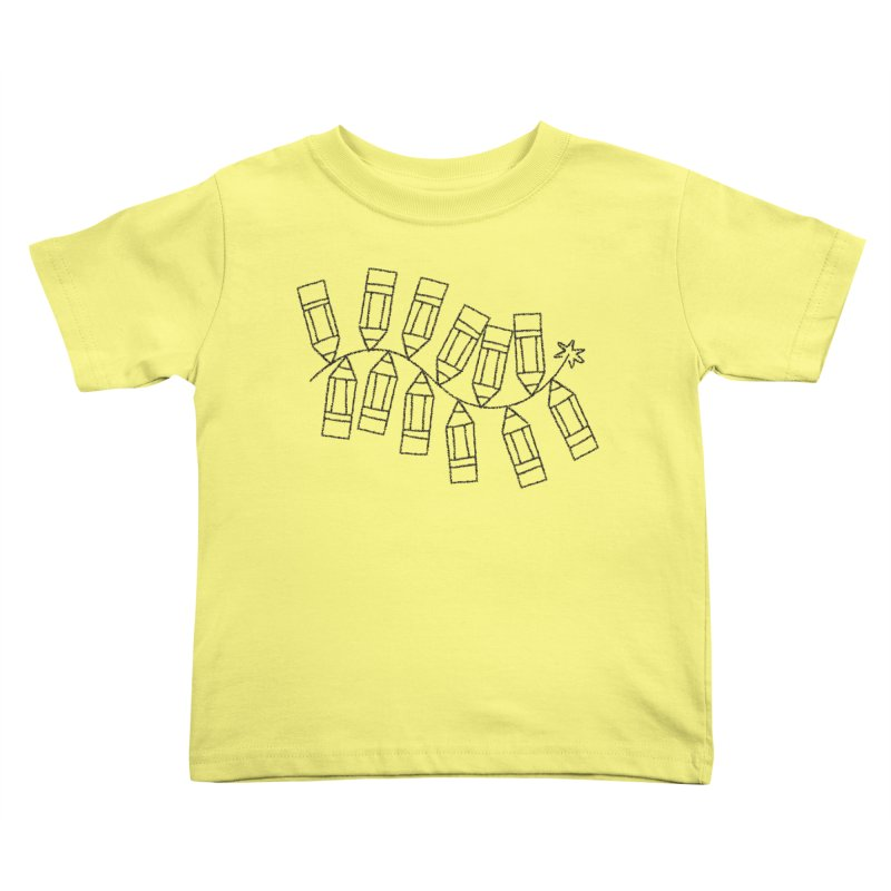 Creativity Kids Toddler T-Shirt by Joshua Gille's Artist Shop