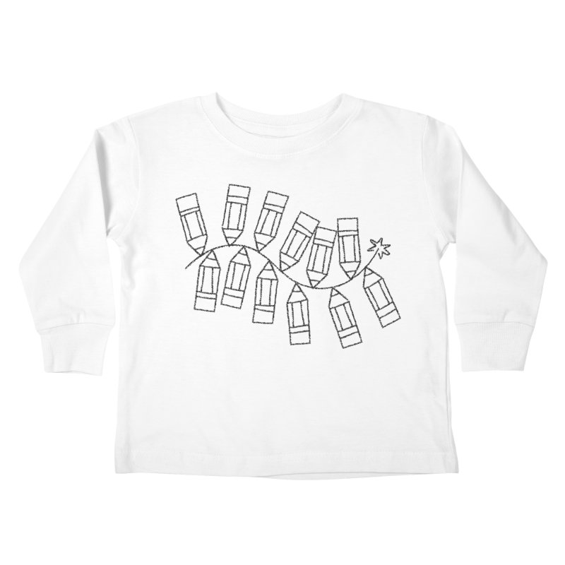 Creativity Kids Toddler Longsleeve T-Shirt by Joshua Gille's Artist Shop