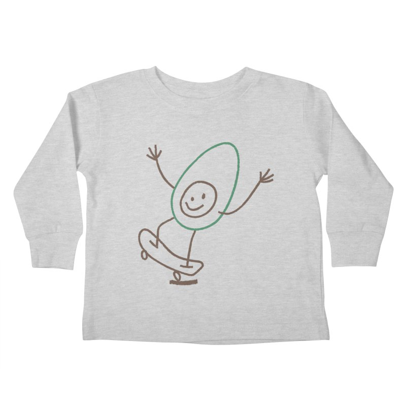 Cado Kids Toddler Longsleeve T-Shirt by Joshua Gille's Artist Shop