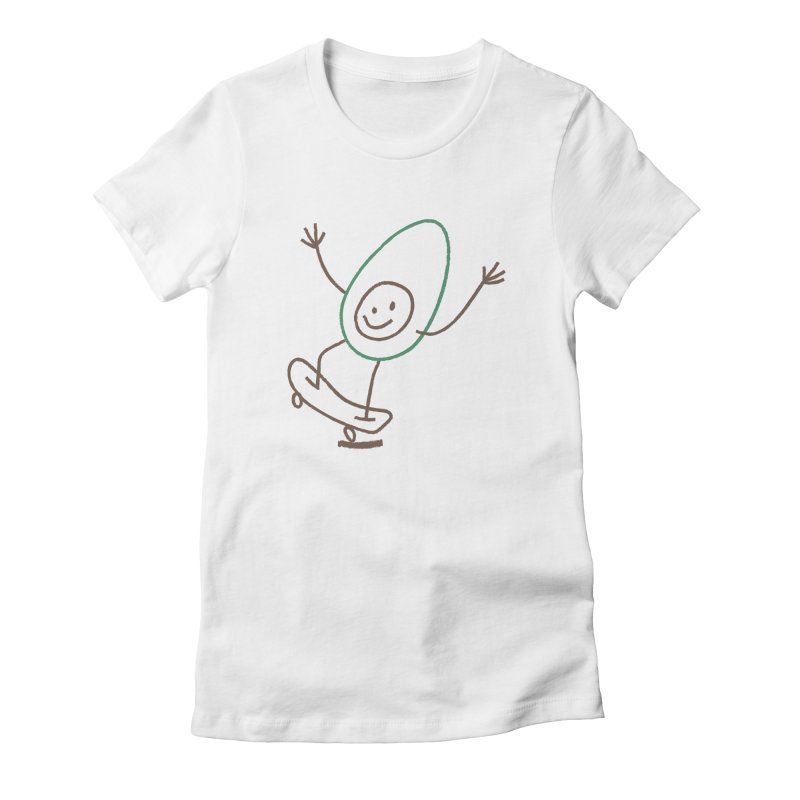 Cado Women's Fitted T-Shirt by Joshua Gille's Artist Shop