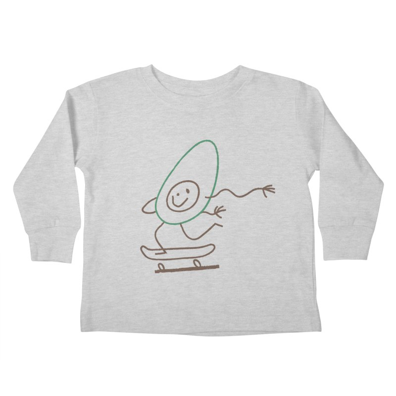 Cado Kids Toddler Longsleeve T-Shirt by Joshua Gille's Artist Shop