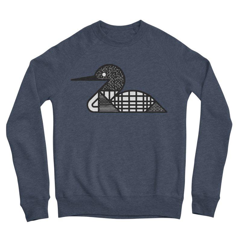 Loon Women's Sponge Fleece Sweatshirt by Joshua Gille's Artist Shop