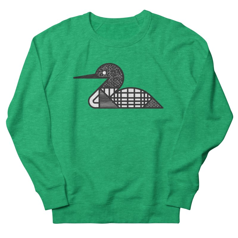 Loon Men's Sweatshirt by Joshua Gille's Artist Shop