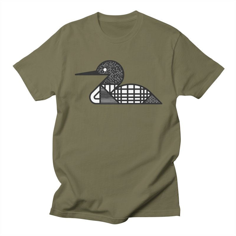 Loon Men's Regular T-Shirt by Joshua Gille's Artist Shop