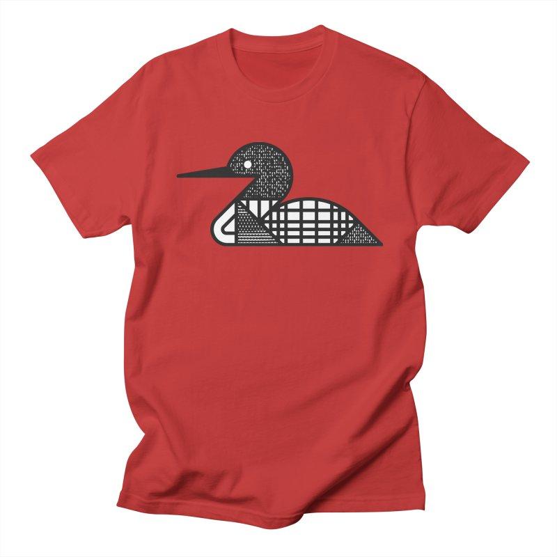 Loon Men's Regular T-Shirt by Joshua Gille's Artist Shop