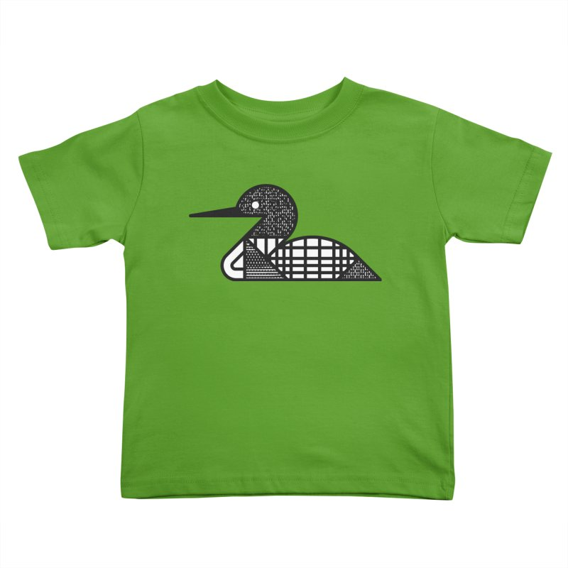 Loon Kids Toddler T-Shirt by Joshua Gille's Artist Shop