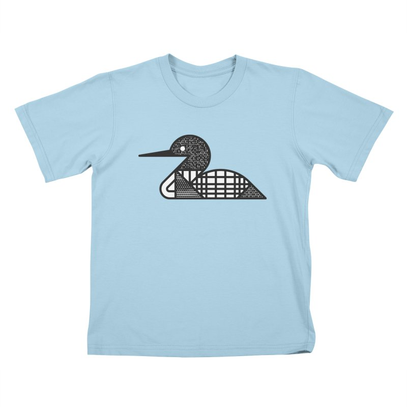 Loon Kids T-Shirt by Joshua Gille's Artist Shop