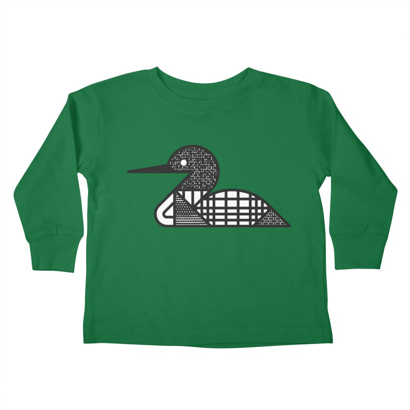 Loon Kids Toddler Longsleeve T-Shirt by Joshua Gille's Artist Shop