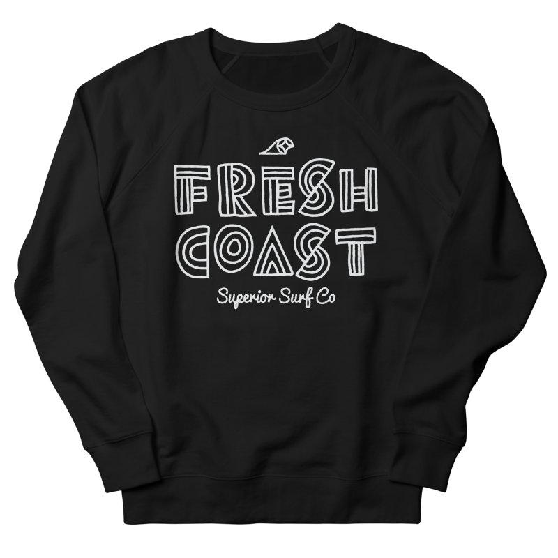 Superior Surf Co – Fresh Coast Women's French Terry Sweatshirt by Joshua Gille's Artist Shop