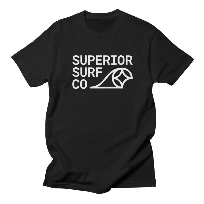 Superior Surf Co. Men's Regular T-Shirt by Joshua Gille's Artist Shop