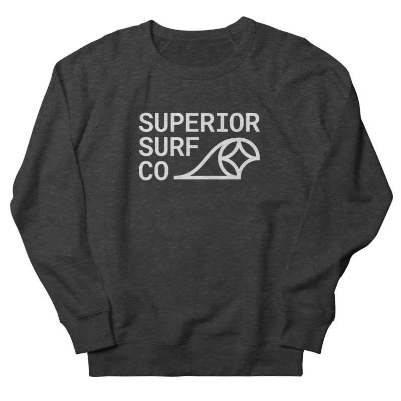 Superior Surf Co. Women's French Terry Sweatshirt by Joshua Gille's Artist Shop
