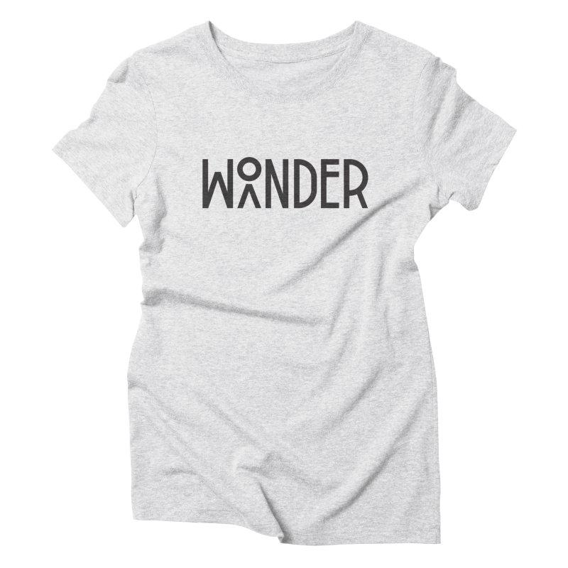 Wonder Wander Women's Triblend T-Shirt by Joshua Gille's Artist Shop