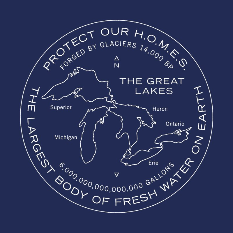 Protect Our H.O.M.E.S. Seal — White by Joshua Gille's Artist Shop