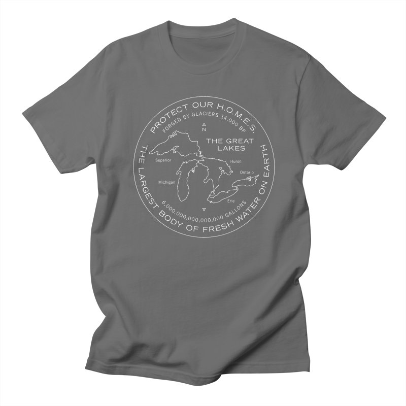 Protect Our H.O.M.E.S. Seal — White Men's Regular T-Shirt by Joshua Gille's Artist Shop