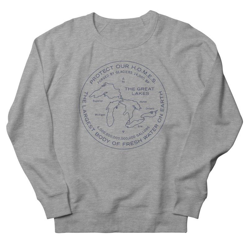 Protect Our H.O.M.E.S. Seal — Blue Men's Sweatshirt by Joshua Gille's Artist Shop