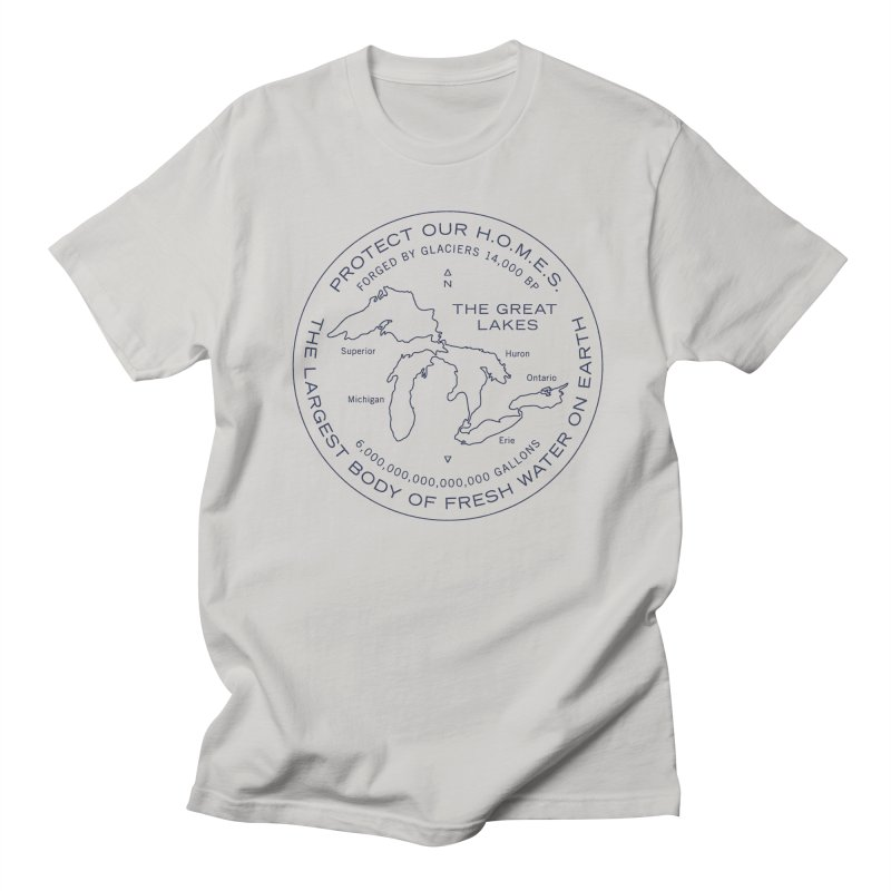 Protect Our H.O.M.E.S. Seal — Blue Women's Regular Unisex T-Shirt by Joshua Gille's Artist Shop
