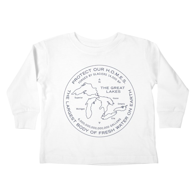 Protect Our H.O.M.E.S. Seal — Blue Kids Toddler Longsleeve T-Shirt by Joshua Gille's Artist Shop